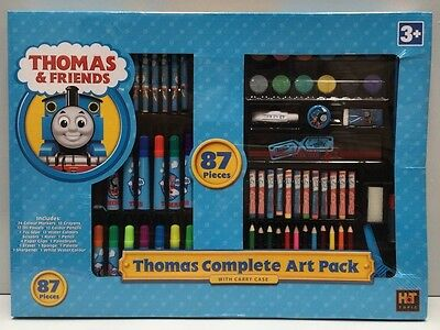 Thomas The Tank Engine 87 Piece Complete Kids Art Pack