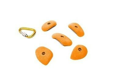 ETCH Crimper Set G Climbing Hold, Orange