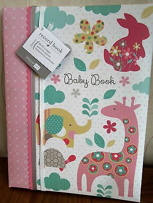 New Pepperpot Baby Record Book Boxed  Girl Keepsake Album Memories Birth To 5
