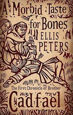 Morbid Taste for Bones: 1 by Ellis Peters Paperback Book Free Shipping!