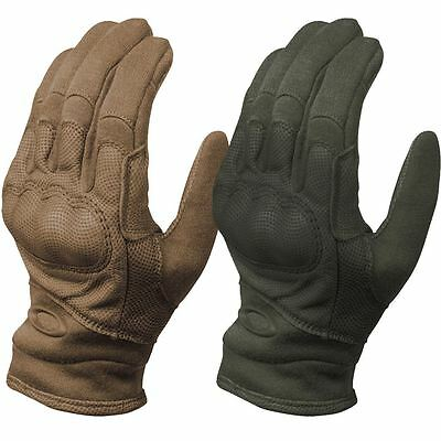 2016 Oakley Si Tactical FR Leather Sports Mens Military Protective Gloves - PAIR