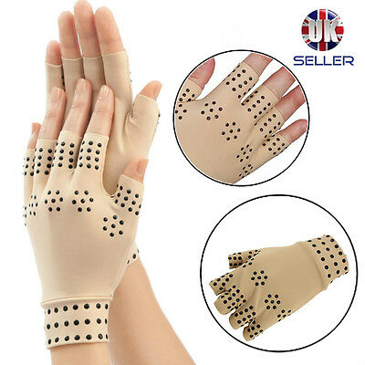 Magnetic Anti Arthritis Gloves Hand Support Pain Relief Arthritis Compression