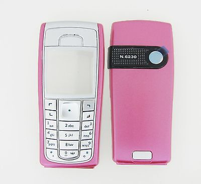 NOKIA 6230i 6230 Replacement COVER FACIA HOUSING PINK BRAND NEW