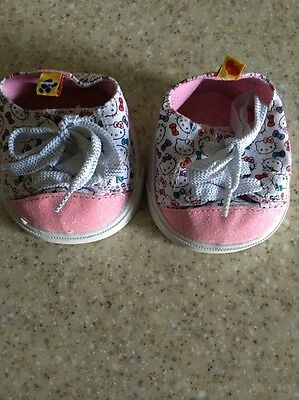 Build-A-Bear HELLO KITTY SNEAKERS Tennis Shoes