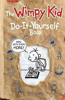 Diary of a Wimpy Kid - Do-it-yourself Book by Jeff Kinney Paperback Book