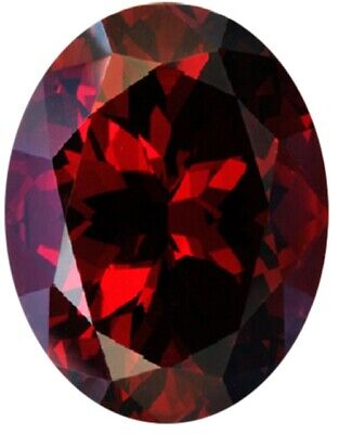 Natural Fine Intense Deep Red Garnet - Oval - Tanzania - Top Grade