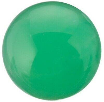 Natural Fine Apple Green Chrysoprase - Round Cabochon - Brazil - AAA Grade
