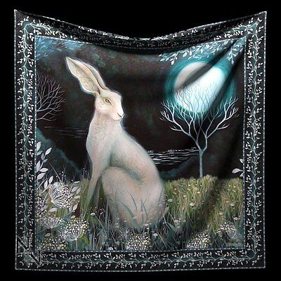 Altarcloth Rabbit - Mystic Knight Hare - Altar Blanket Decor