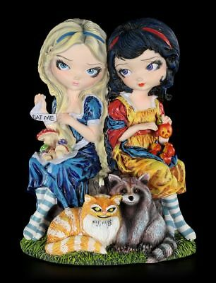 Elves Figurine - Alice & Snow White - limited in Gift Box - Collectible
