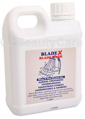 Wahl Blade-X Disinfectant Wash For Blade, Scissors and Grooming tools 1L