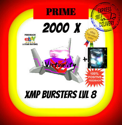 INGRESS 2000 BURSTERS XMP Lvl 8 XMP8 LEVEL 8 L8 burster + 1 FREE QUANTUM (MUFG)