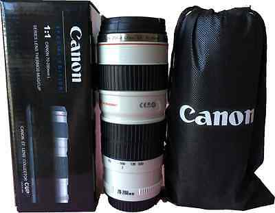 Camera Lens Cup Travel Tea Coffee Mug Gift cup EF lens collector cup
