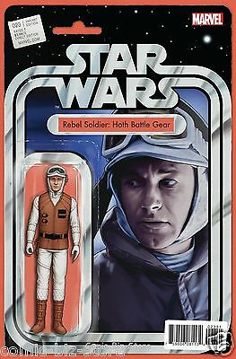 Star Wars #23 (2016) 1St Printing Christopher Action Figure Variant Cover