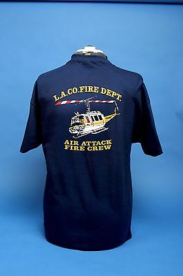 L.A. County Fire Department Air Operations Old School 205 T Shirt