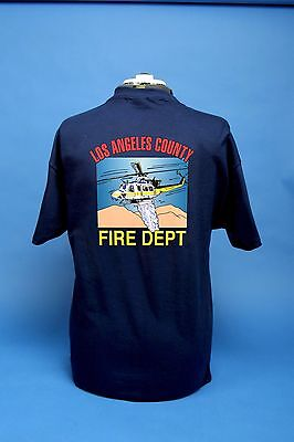 L.A. County Fire Department Air Operations Old School 412 T Shirt
