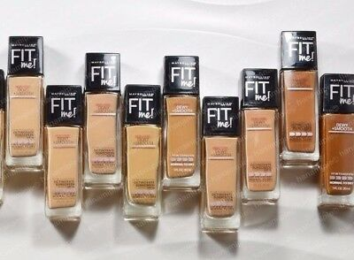 Maybelline Fit Me Foundation Dewy + Smooth 30 ml/1 FL Oz, Pick Your Shade