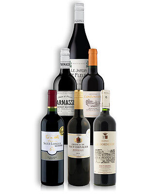 French Vintage Wine Mix (6 Bottles)