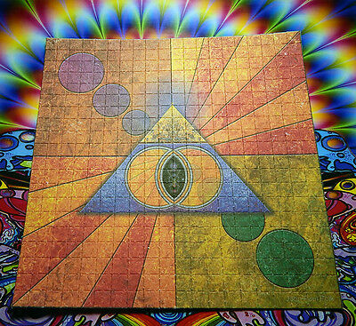 Psychedelic Blotter Art Print perforated sheet 400 hits Acid Free