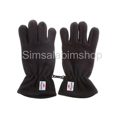 3 Color Skidproof Gloves Unisex Fleece Full Finger Touch Screen Gloves S/M/L