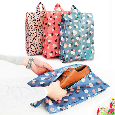 Traveling Pouch Storage Easy Zipper Bag Waterproof Laundry Shoes Organizer Set