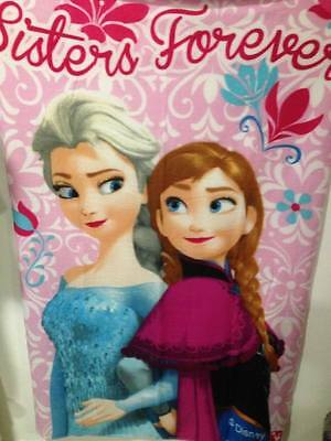 Plaid couverture polaire Reine des Neiges sisters Disney 100x150 ExcellShopping