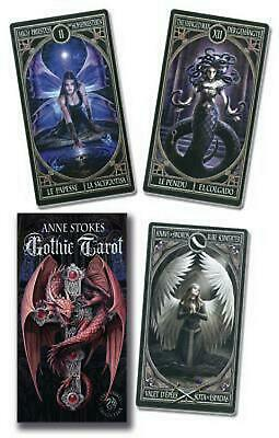 Anne Stokes Gothic Tarot Deck by Lo Scarabeo (English) Free Shipping!