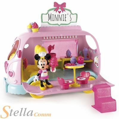 Minnie Mouse Clubhouse Sweets & Candies Van Toy Playset