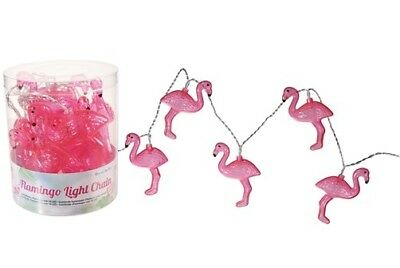LED Lichterkette Flamingo Licht Girlande Leuchte Party Fest bunt Sommer Zoo