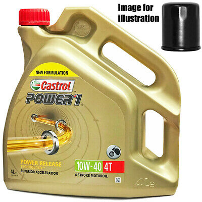 Ducati 750 Monster 1997 Castrol 10w40 Oil and Filter