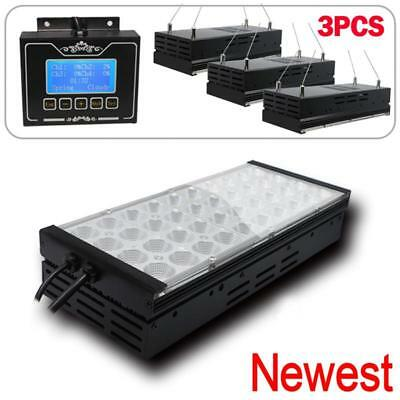 3pcs Pack Upgraded Dimmable LED Aquarium Light For Coral Reef Marine Fish Tank
