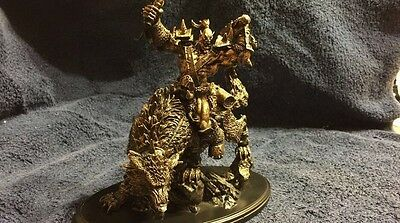 World of Warcraft 10th Anniversary Limited Edition Orc Wolf Rider Statue