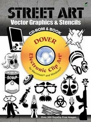 Street Art Vector Graphics & Stencils [With CDROM] by Jeremy Elder Paperback Boo