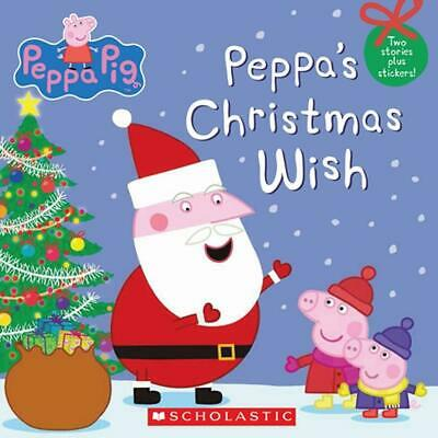 Peppa Pig: Peppa's Christmas Wish by Inc. Scholastic Paperback Book (English)