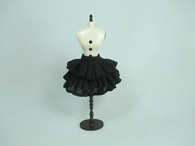 Handmade clothing Layers Black Skirt for 1:6 scale doll Barbie Blythe