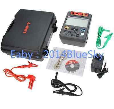 UNI-T UT512 Insulation Resistance Tester 2500V PI DAR Analog Bar USB Interface