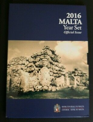 2016 Malta Dated Coin Set 3,86€ (Whitout 2 euro Ggantija )