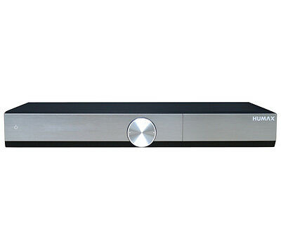 HUMAX DTR-T2000 YouView HD Recorder 500 GB Pause & Rewind & Record Silver/Black