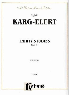 Thirty Studies Op.107 by Paperback Book (English)