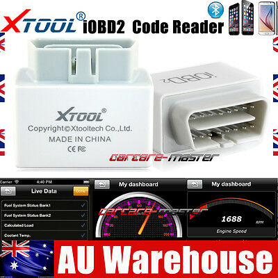Xtool Auto iOBD2 Code Reader OBDII Scanner Bluetooth Scan Tool For Android & IOS