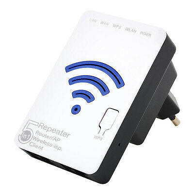 300 Mbps Wifi IEEE 802.11n Signal Router Booster Repeater Expander sans fil