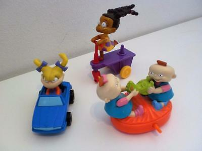 Nickelodeon Rugrats Car Vehicle Baby Toy Dolls x 3 Figures Cake Toppers 1990s