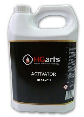 HYDROGRAPHIC ACTIVATOR - WATER TRANSFER PRINTING - HYDRODIP   1.32Gal. (5L)