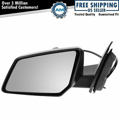 Side View Mirror Power Textured Black Driver Left LH for Chevy GMC Saturn