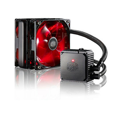 Cooler Master Seidon 120V Version 3.0 AIO Water Cooling Kit, Quiet, Compact 120m