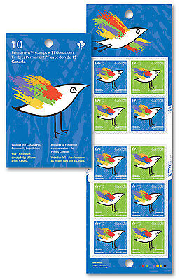 Canada 2016 Canada Post Community Foundation Complete Booklet Mnh