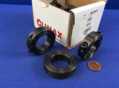 Lot Of 10 Climax Sc-112 2-Pc. Shaft Collars (Nib)