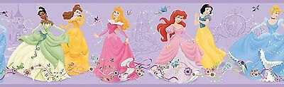 Dancing Princess Border Disney Kids York DK5944BD 9 inches New Wallcoverings