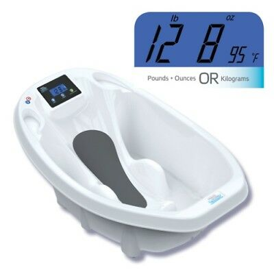 Roger Armstrong Aqua Scale 3-in-1 Infant Bathtub, Scale & Water Thermometer (Whi