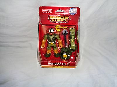 Fisher Price Rescue Heroes Hero World Rocky Canyon 2010 New