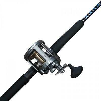 Shimano Tekota 700 with Ugly Stick 6 Foot Fishing Rod